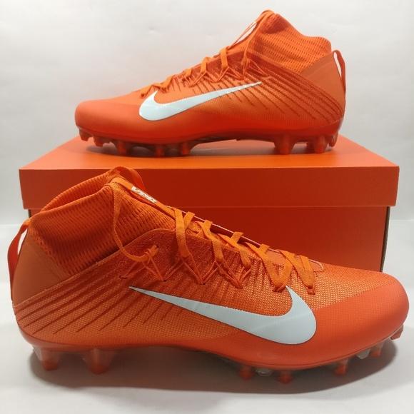 nike orange soccer shoes